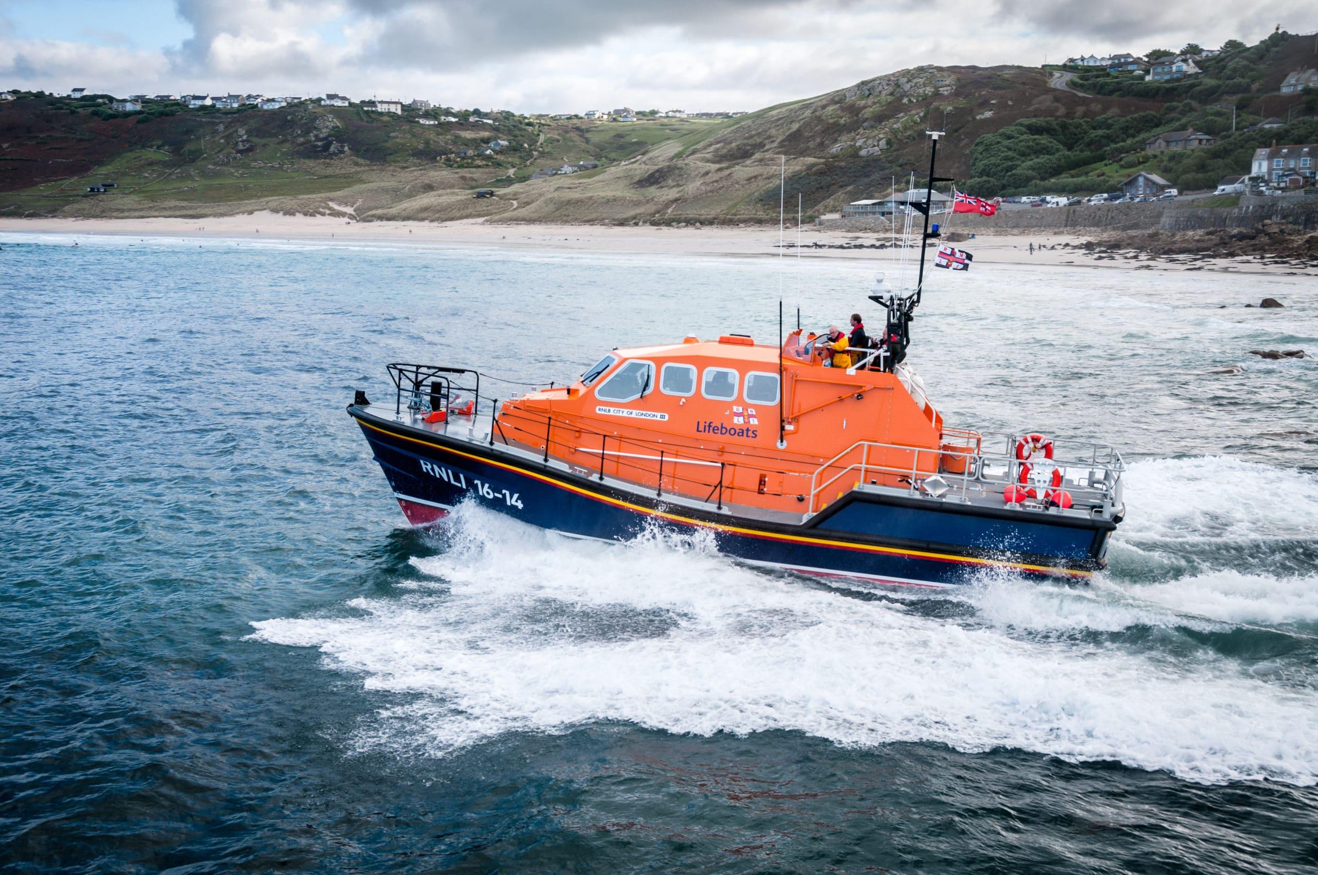Life Boat Launch